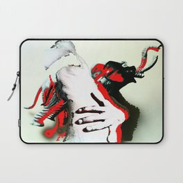 Elephant Naked Man Laptop Sleeve