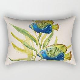 Fishes 2 Rectangular Pillow