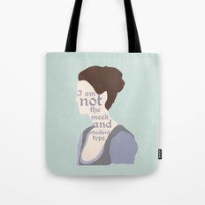 Claire Fraser Quote Tote Bag