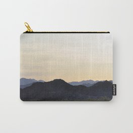mountains of joshua tree Carry-All Pouch