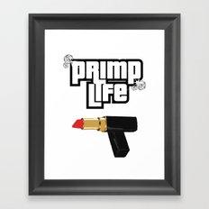 Primp Life Framed Art Print