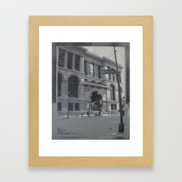 Chicago Public Library Framed Art Print