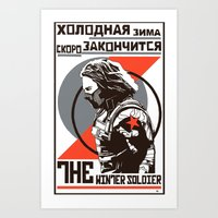 propaganda Art Prints featuring Propaganda by Shop 5