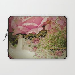 Teacups and Roses 2 Laptop Sleeve