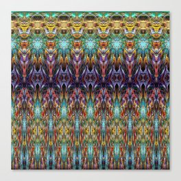 Polarized Fractal Canvas Print
