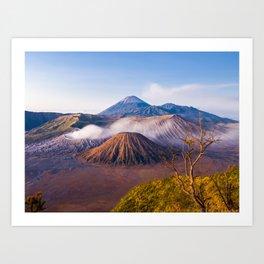 Mt Bromo Volcano, Java, Indonesia Art Print