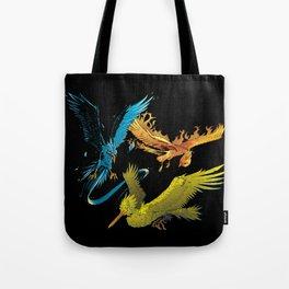 The Three Legendary Birds Tote Bag