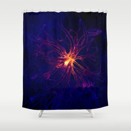 Neuron Shower Curtain