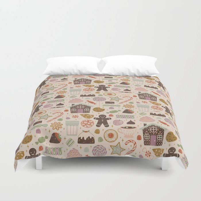 In The Land Of Sweets Duvet Cover