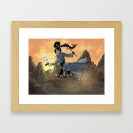 Diabolic Wiz Framed Art Print