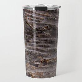 Silver Birch Bark in colour by Teresa Thompson Travel Mug