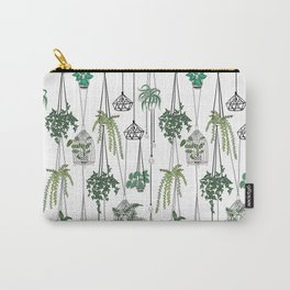 hanging pots pattern Carry-All Pouch