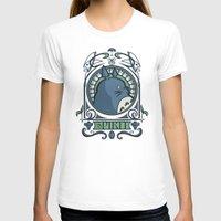 hallion T-shirts featuring Forest Spirit Nouveau by Karen Hallion Illustrations