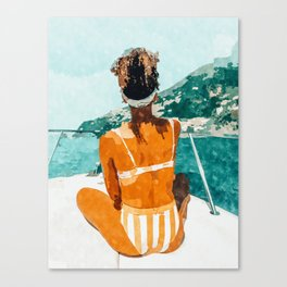 Solo Traveler Canvas Print