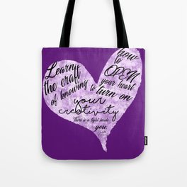 Show Your Creatvity Tote Bag