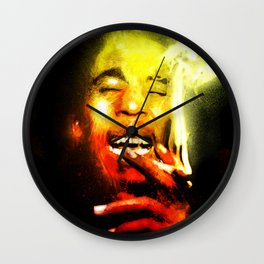 Jah is Mighty Wall Clock