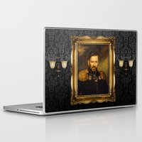 replaceface Laptop & iPad Skins featuring Ricky Gervais - replaceface by replaceface
