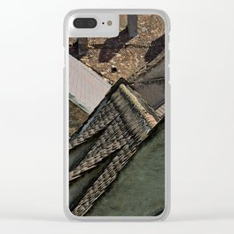 Rooftops Clear iPhone Case