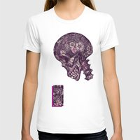 gothic T-shirts featuring Gothic Skull by AKIKO