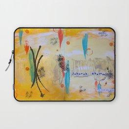 Jehova Shalom Laptop Sleeve