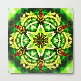 Twelve Around the One Redux - The Mandala Collection Metal Print