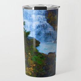 White Falls along the Berg Lake Trail in BC Travel Mug