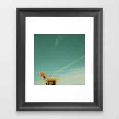Yellow Flag #2 Framed Art Print