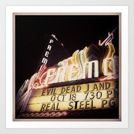 Evil Dead At The Fremont, San Luis Obispo Art Print