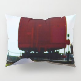 The track and the Train Pillow Sham