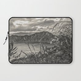 Quilotoa Lake, Latacunga Ecuador Laptop Sleeve