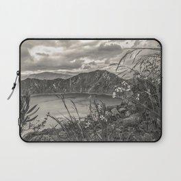 Quilotoa Lake, Latacunga Ecuador Laptop Sleeve