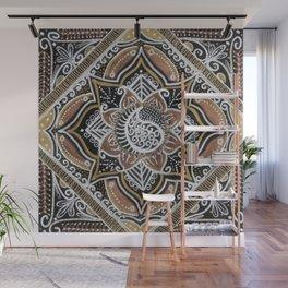 3 Metals Mandala Wall Mural