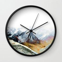 Mountain 12 Wall Clock