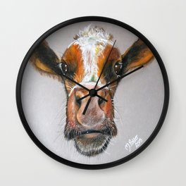 Milly the Calf Wall Clock