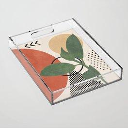 Nature Geometry III Acrylic Tray