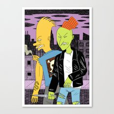 Bad Boys Canvas Print