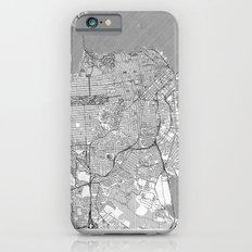 San Francisco Map Line Slim Case iPhone 6