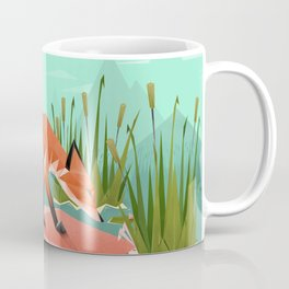 Triangular world Coffee Mug