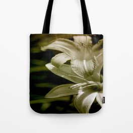 Lilies of the Vally Tote Bag