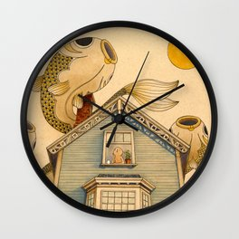 Fish Migration Wall Clock