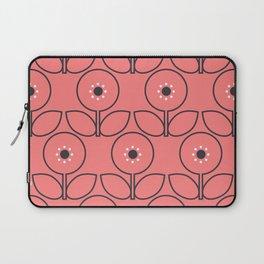 Flora in Grey Laptop Sleeve