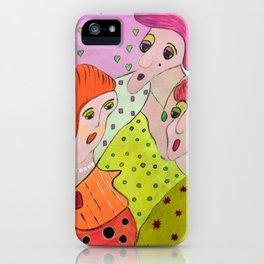 Here Come The Girls iPhone Case