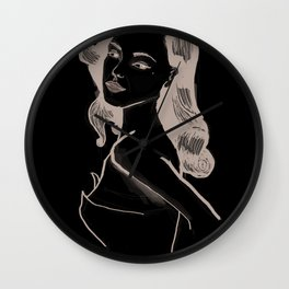 common people - Ditta Wall Clock