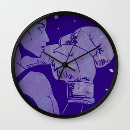 Boxing Club 2 Wall Clock