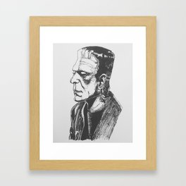 Frank Framed Art Print