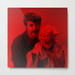 George Lucas - Celebrity (Photographic Art) Metal Print