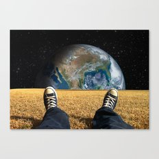 World view Canvas Print