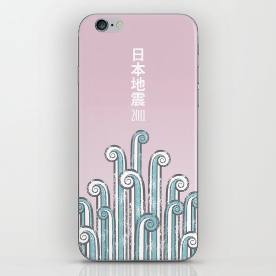 Japan Earthquake 2011 no.2 iPhone & iPod Skin