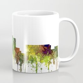 Durham, NC Skyline SG - Safari Buff Coffee Mug