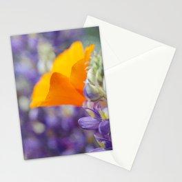Peeking Poppy Stationery Cards